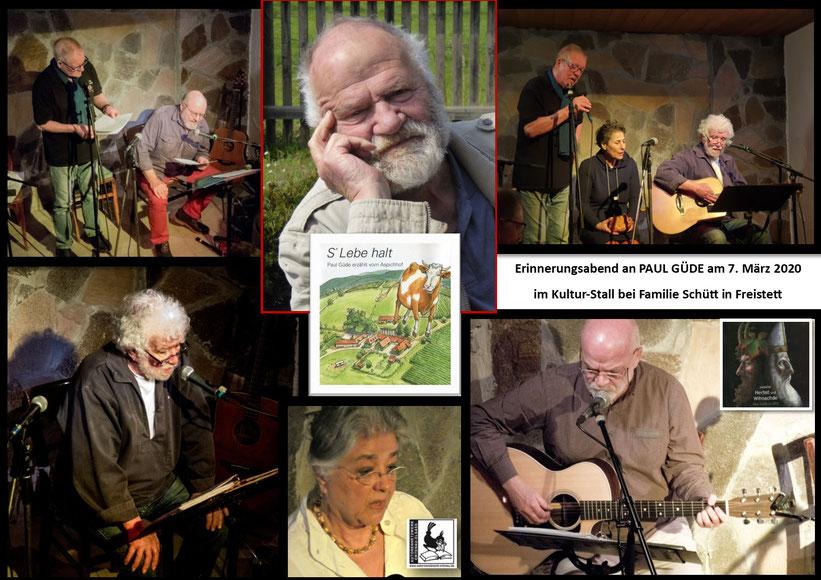 Es musizierten und erzählten  René Egles, Pierre Zeidler, Norbert Zoller, Martin Schütt und Karin Jäckel  - Foto privat