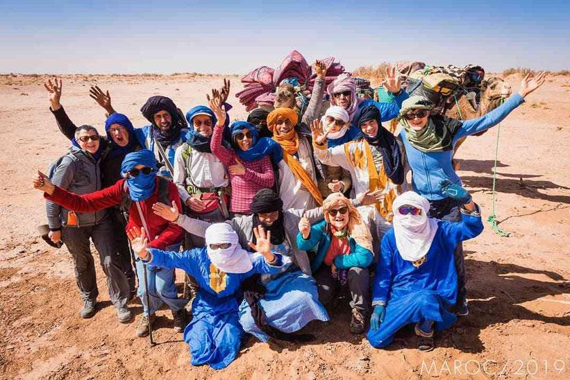 trekking nel deserto marocco harmony desert