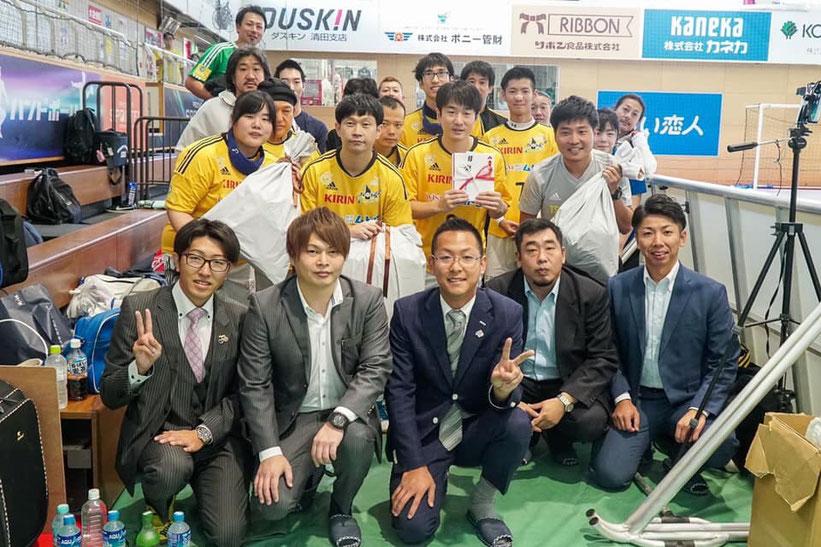 視覚障がい者サッカーチーム「ナマーラ北海道」