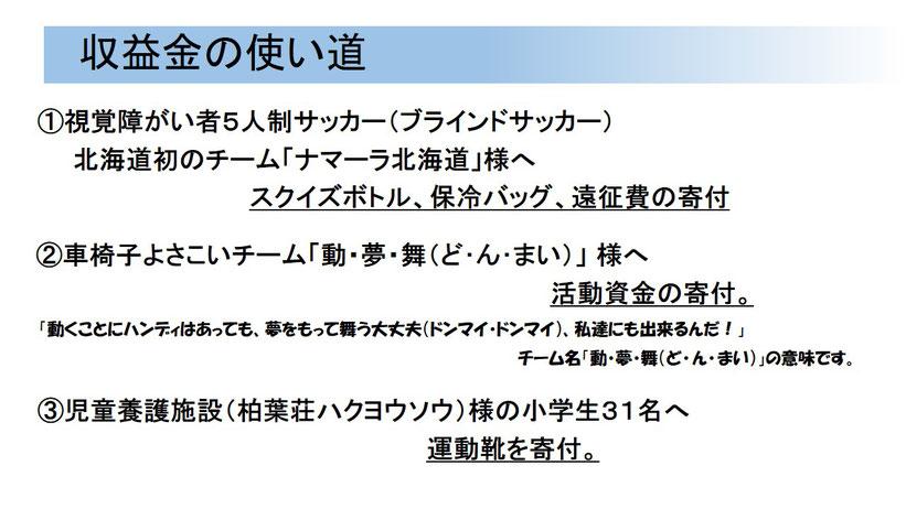 札幌社会貢献活動