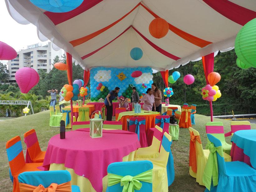 fiesta infantil de cumpleaños
