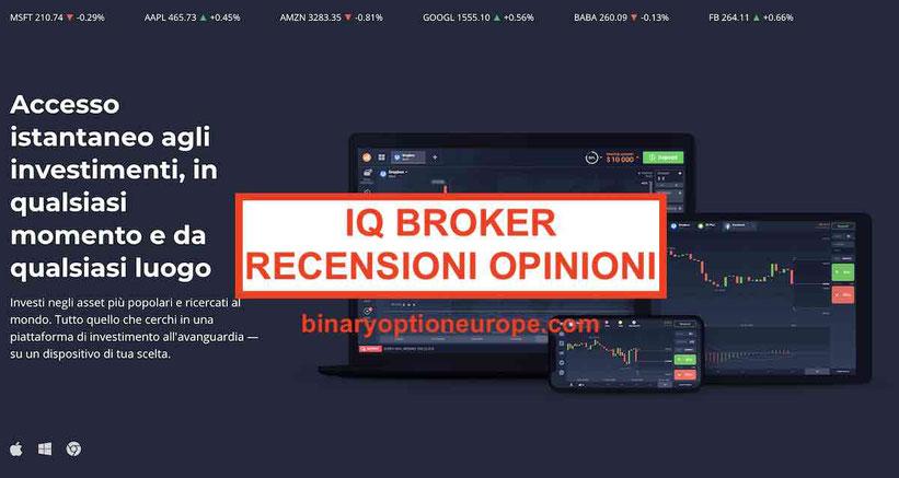 iq broker recensioni opinioni app