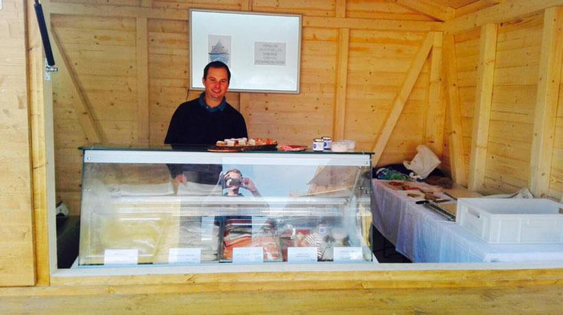 Unser Marktstand am Bauernmarkt in Wels - Martin Dietachmair