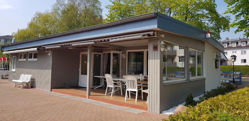 TSG-Clubhaus im frischen Gewand ...