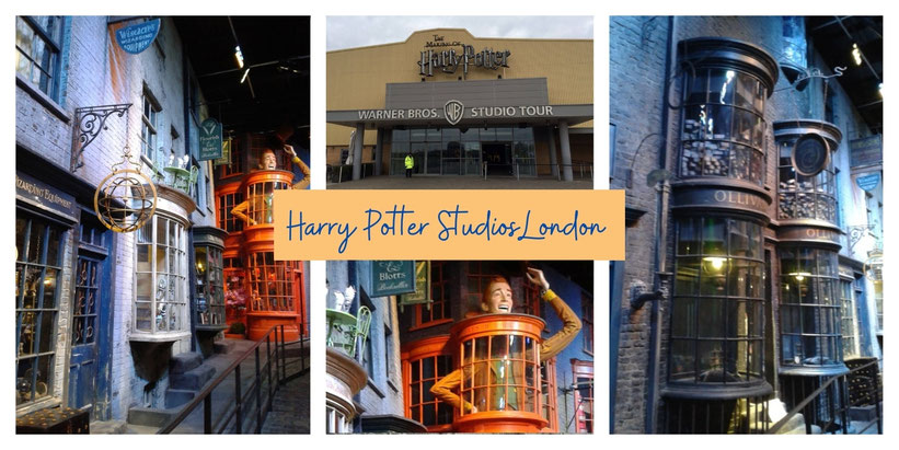 Winkelgasse aus Harry Potter im realen Leben besuchen - The Making of Harry Potter - Studio Tour