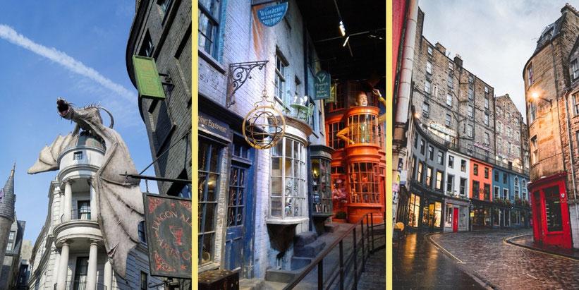 Winkelgasse aus Harry Potter im realen Leben besuchen