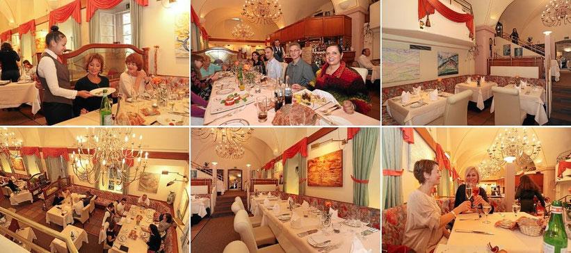 Gewölbekeller im Sternerestaurant I Fratelli in  Rheinfelden