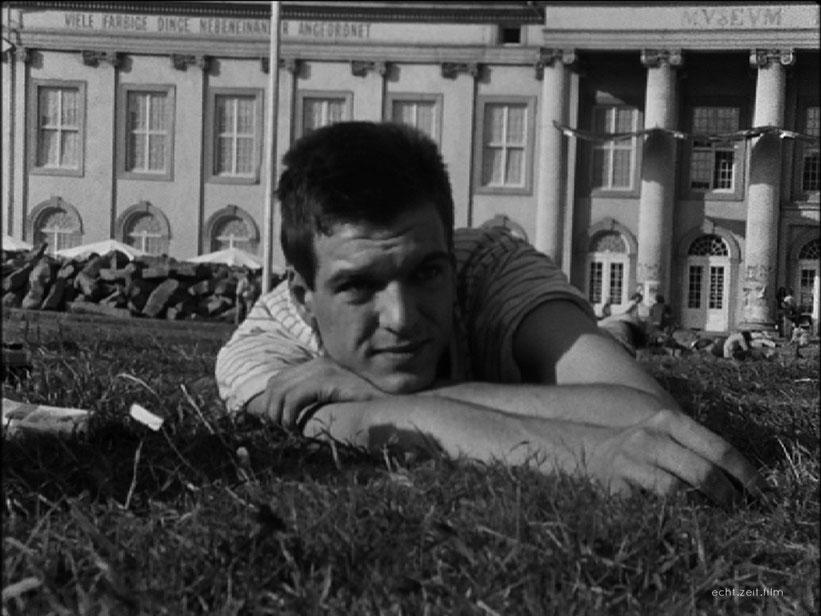 Peter Schreiner echtzeitfilm GRELLES LICHT Hermann Krejcar     austrian film    austrian movies    austrian experimental cinema   österreichischer Film