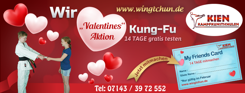Valentinstag Kampfsport Kinder Ludwigsburg Hemmingen Waiblingen 3