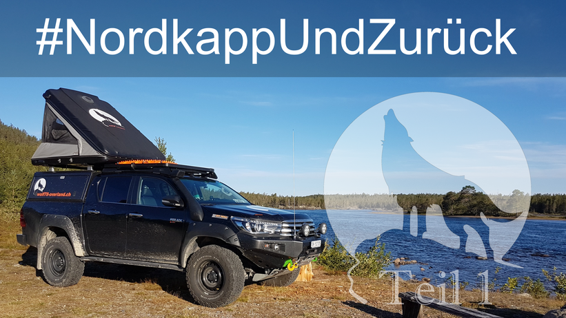 Toyota Hilux Arctic Trucks Skandinavien #ProjektBlackwolf wolf78 explore without no limits Alu-cab offroad overland Travel Camping 4x4 AFN frontrunneroutfitters #BornToRoam Rival James Baroud DachzeltNomaden Sknorkel wolf78-overland.ch #Nordkapundzurück