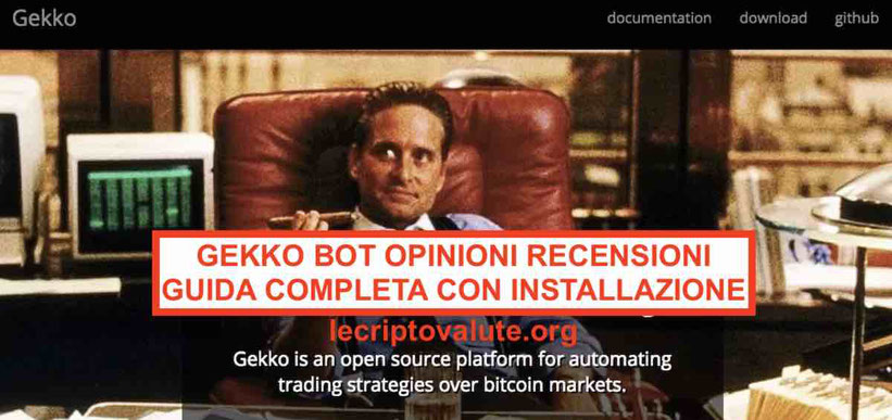 Gekko Bot opinioni recensioni funziona o no Guida completa 2019