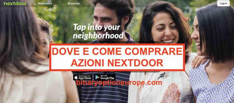 Dove e come comprare azioni Nextdoor IPO Previsioni