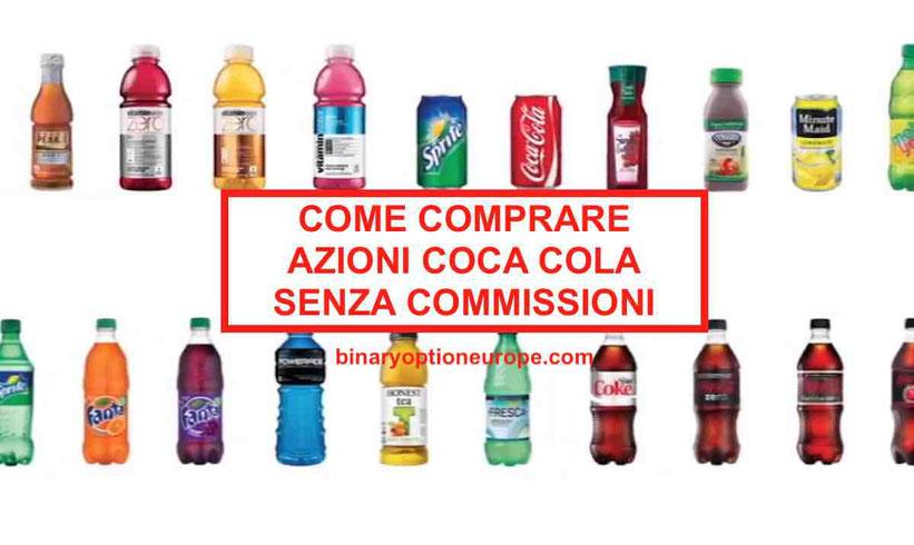 Come comprare Azioni Coca Cola? Quotazioni e Previsioni