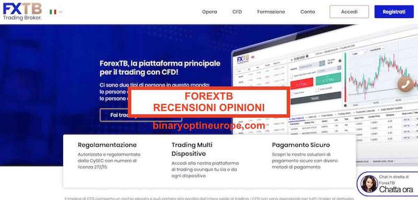 ForexTB recensioni e opinioni truffa o funziona Guida Italia