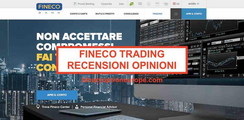 Fineco opinioni trading app piattaforma recensioni e commenti truffa