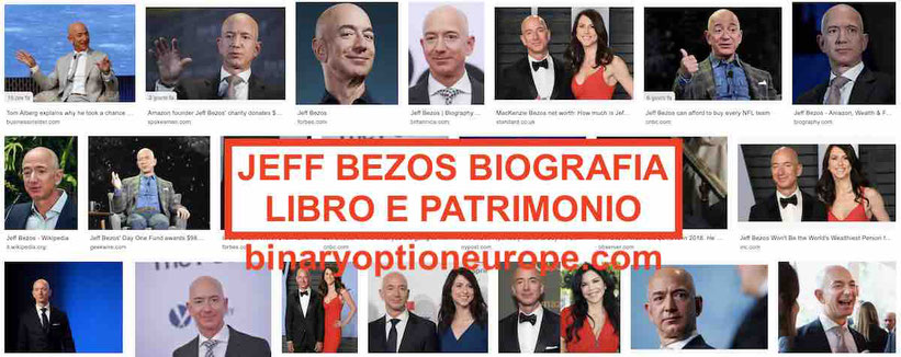 Jeff Bezos patrimonio in euro del fondatore di Amazon