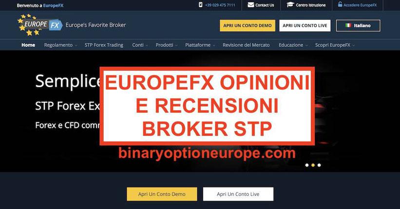 EuropeFX opinioni truffa o funziona Recensioni broker STP con MT4 2019