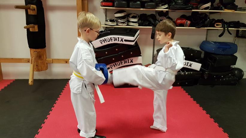 Kinder Karate Selbstverteidigung Ludwigsburg Hemmingen Waiblingen