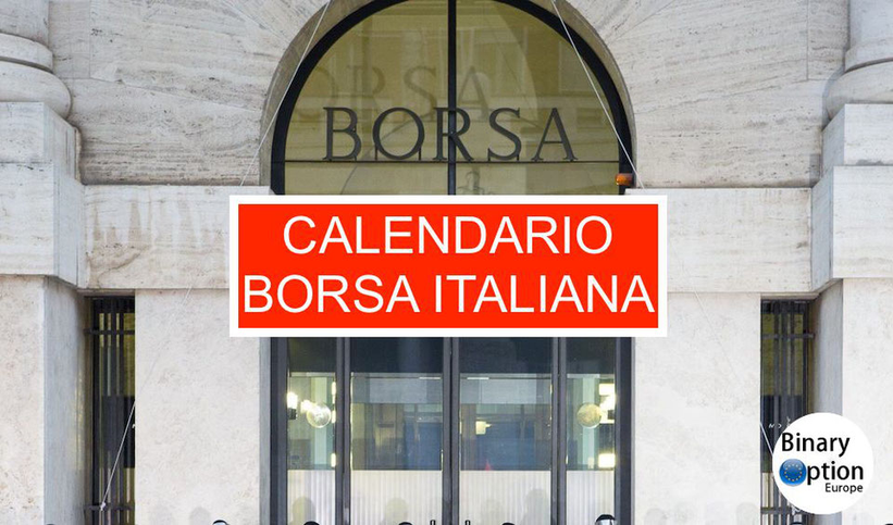 Borsa Americana Calendario 2021 ▷ Calendario borsa italiana 2021 orario apertura giorni chiusura