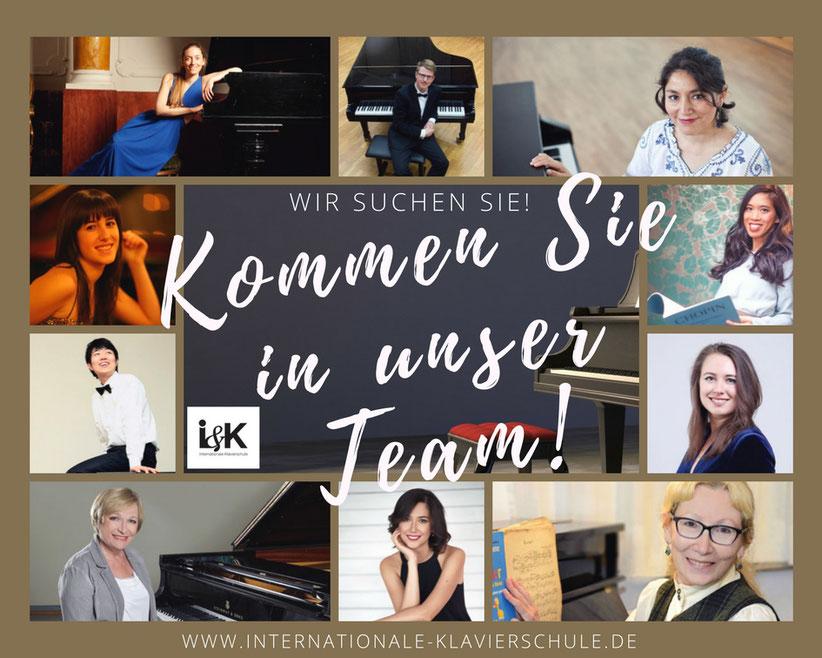 Stellenangebot unserer Musikschule: Klavierlehrer/innen in Hamburg gesucht