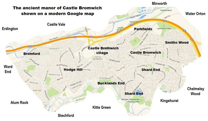 Where on Earth is Castle Bromwich  Castle Bromwich History for