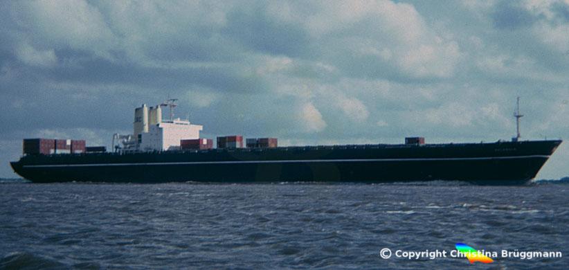 "EAC Containerschiff 3. Generation ""SELANDIA"" 1985"