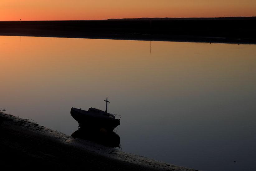 Mathieu Guillochon photographe, France, Somme, estuaire, bateau, voyage, mer, rivage, littoral, chenal.