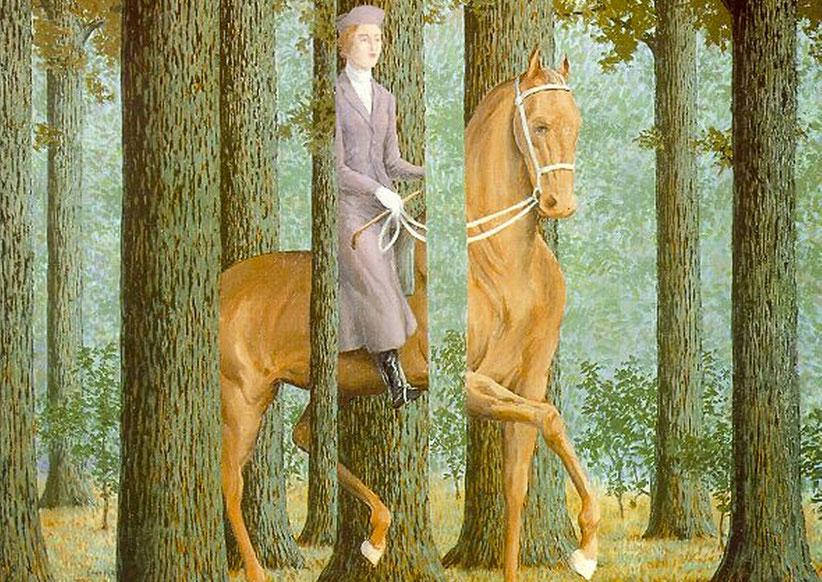 """René Magritte, """"La firma in bianco"""" (1965)"""