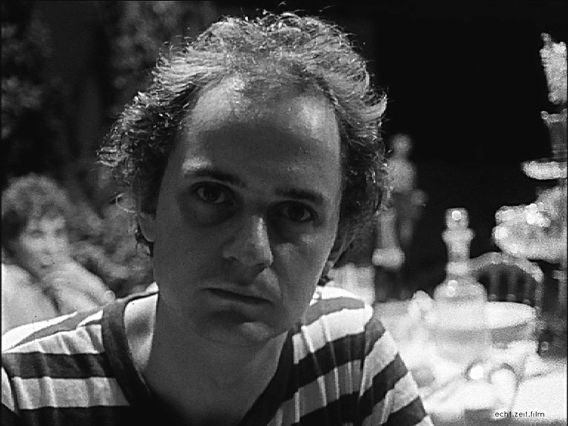 Peter Schreiner echtzeitfilm GRELLES LICHT Niki List     austrian film    austrian movies    austrian experimental cinema