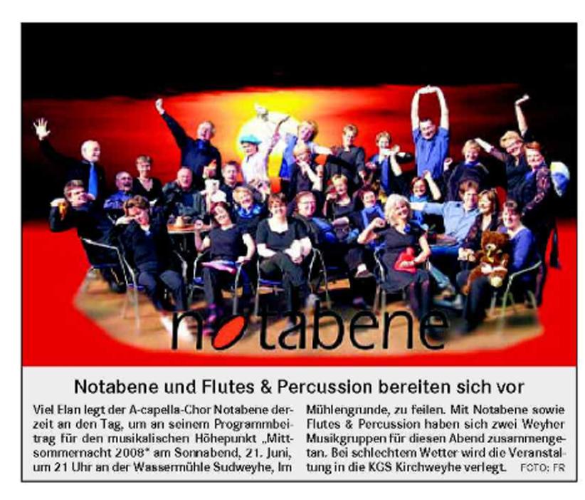 Weser-Kurier vom 05. 06. 2008
