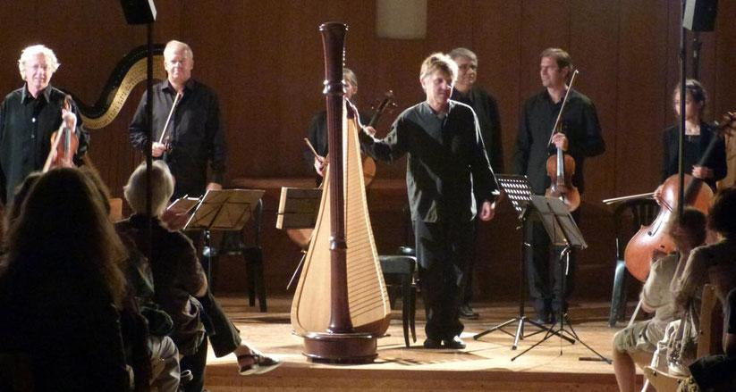 Fabrice Pierre et le quatuor Martinu en août 2013