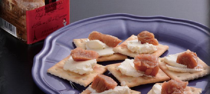 南フランス カマルグ産塩 使用。まろやかでなめらかな旨味。