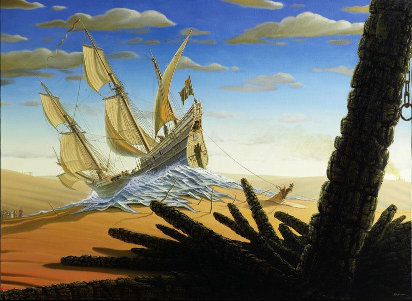 """""""Duyfken"""" 80x110cm, 2008, verkauft"""