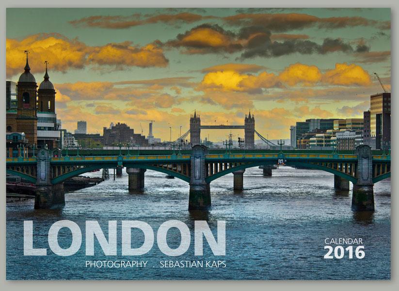 Calendar London 2016, Wall Calendar London
