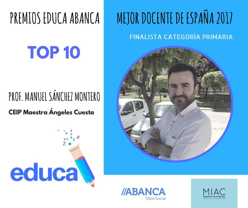 Finalistas en la categoría de Primaria: Manuel Sánchez Montero - Web ...
