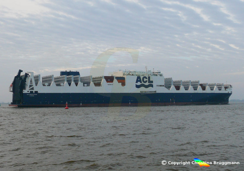 ACL G4-Klaase  Con-Ro Frachter ATLANTIC STAR