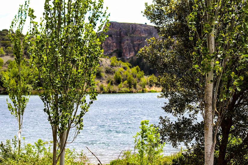 Embalse de las Vencías en Segovia