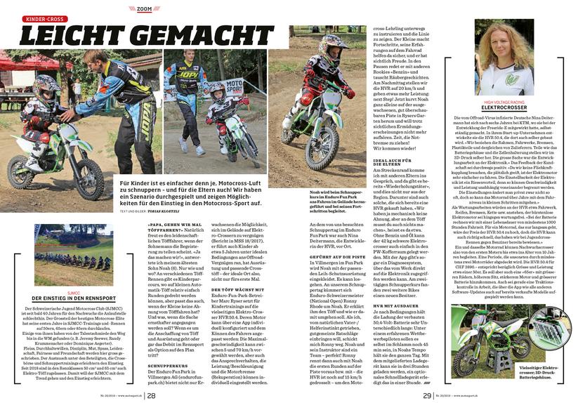 Artikel Magazin Schweiz Motorsport Schweiz