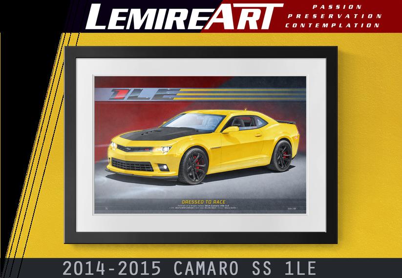 2014 Camaro SS 1LE drawing, 2014 Camaro 1LE drawing, 2015 Camaro SS 1LE drawing, 2015 Camaro 1LE drawing