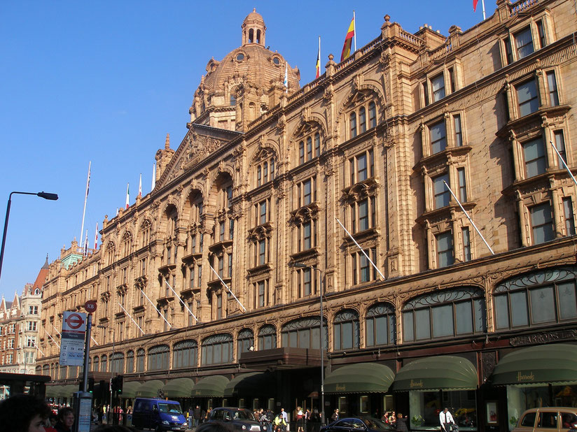 Harrods Knightsbridge in London