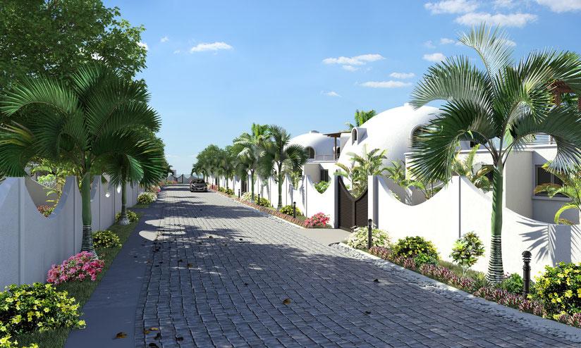 LES DOMES D'ALBION votre Villa RES à l'île MAURICE en pleine propriété