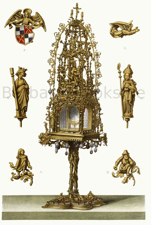 Große prachtvolle Monstranz (1486–1505)