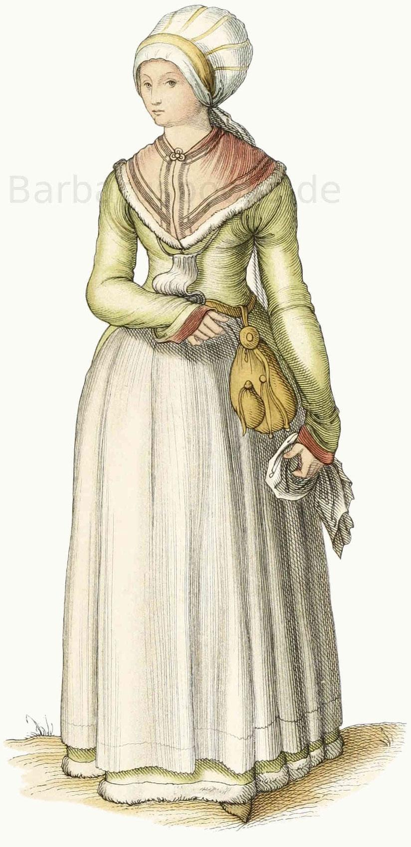 Nürnberger Frauen vom Jahr 1500
