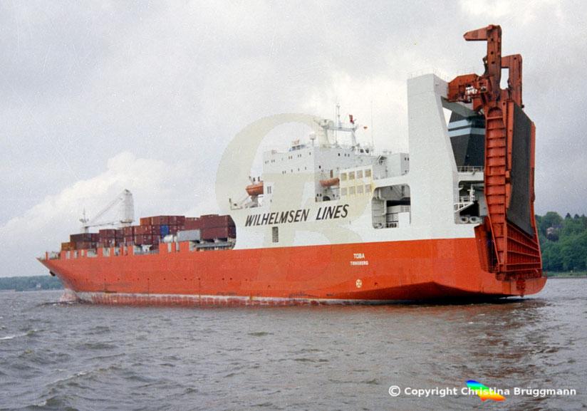 Wilhelmsen Lines Co-Ro Frachter TOBA