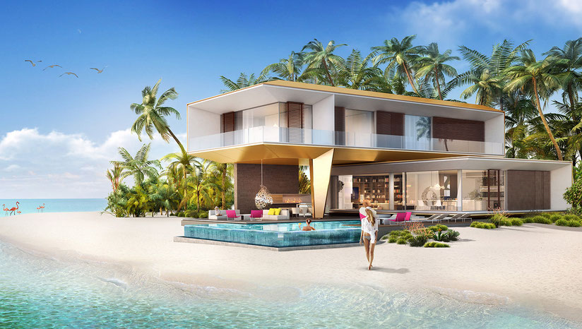 achat villa de luxe et de prestige le coeur de l'Europe lcde Dubai Emirates Arabes Unis
