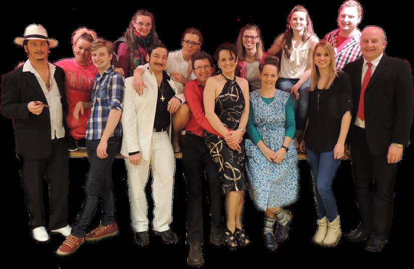 Unser Ensemble von 2016