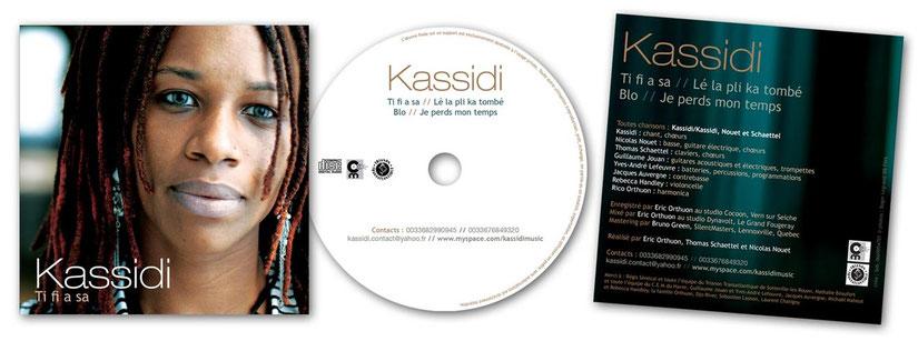 Pochette de CD et galette _ Kassidi