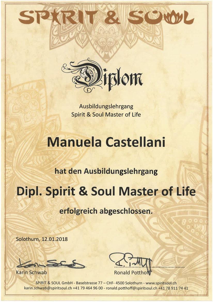 Dipl. Spirit & Soul Master of Life