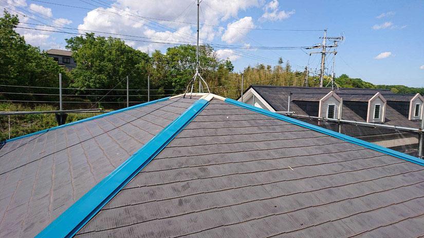 千葉市若葉区で塗装工事 屋根修理