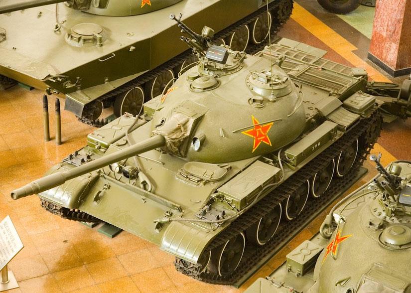 Le schéma est identique au Type 59, en taille réduite